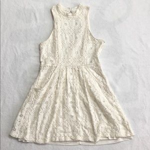 Urban Outfitters Kimchi Blue Lace White Dress